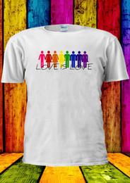 $enCountryForm.capitalKeyWord NZ - Love Is Love LGBT Gay Lesbian T-shirt Vest Tank Top Men Women Unisex 2234Funny free shipping Unisex Casual gift top