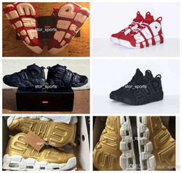 22327bde13 2018 New Sup Air More Uptempo Mens Women Basketball Shoes High Quality Big  Pippen Athletic Sport 902290-700 US 5.5-13