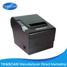 Card Laser Designs UK - Auto-Cutter 80mm Thermal Receipt Printer YK-8030 Straight Thermal Print Design for cash register USB, LPT,PS 2 in one