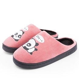 Chinese  2018 Home Slippers Winter Warm Slippers Indoor Bedroom Women House Shoes Female Plush Slippers Furry Cotton Pantufa Unisex manufacturers