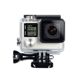 Accessories hero3 online shopping - For Gopro Waterproof Housing Case For Gopro hero Hero3 Hero Underwater Protective Box For Go pro Accessories