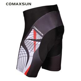 men cycling tights 2019 - COMAXSUN Men's Cycling Shorts 3D Padded Bike Bicycle Outdoor Sports Tight S-3XL 10 Style cheap men cycling tights