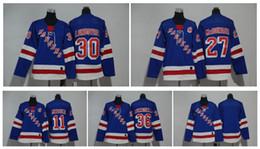 ny rangers jersey 27 2019 - 2018 Kids NY New York Rangers Jersey 27 Ryan  McDonagh bfe455093
