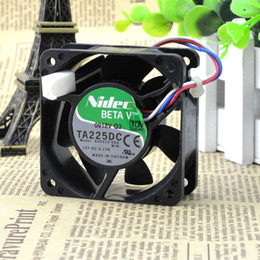 Discount 12v server power supply For Nidec 6025 12V 0.17A 6cm Mute Power Chassis   Server Fan B35572-58G