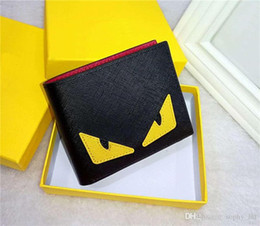 Wholesale photo men hip hop online – oversize High quality Men s wallets pu leather fashion cross wallet mens designer card wallets pocket bag European style purses new
