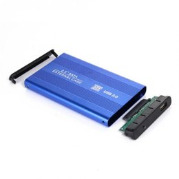 Usb enclosUre for hard drive online shopping - High Speed inch USB HDD Case Hard Drive SATA External Enclosure Box for PC Computer Laptop Notebook XXM