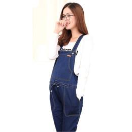 024da970a Denim Blue Maternity Jeans Jeans Jumpsuite Jumpsuits Casual  PregnancyPantalones Otoño Invierno Ropa de invierno para mujeres embarazadas