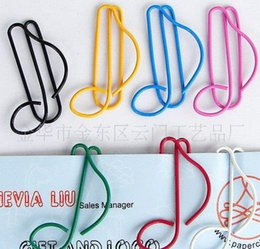 $enCountryForm.capitalKeyWord Canada - quaver Metal Bookmarks colorful Paper clip Page Holder 30*20MM Semiquaver paper office materials School supplies mxed order wholesale