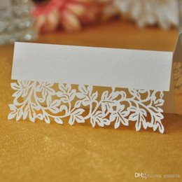 Wholesale 36Pcs Baby Shower Birthday Party Table Place Card Charm Invitation Name Hot Sale
