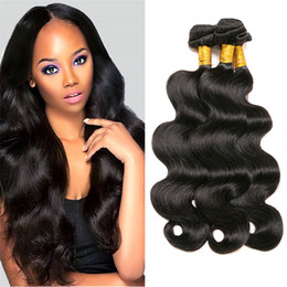 Cheap Virgin Human Hair Extensions Australia - New Arrival 100% human hair body wave Raw Indian Body Wave Virgin Human Hair bundles Remy Cheap Human Hair Weave Extension Bundles