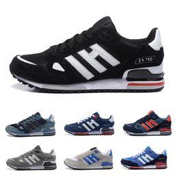 new concept 98a8c 4cc36 adidas shoes Venta al por mayor EDITEX Originals ZX750 zapatillas zx 750  para hombres y mujeres Athletic zapatillas transpirables envío gratis  tamaño 36-44