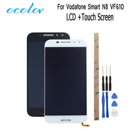 Touch Screen N8 NZ - ocolor For Vodafone Smart N8 VF610 LCD Display And Touch Screen Digitizer Assembly Repair +Tools For Vodafone Smart N8 VF610