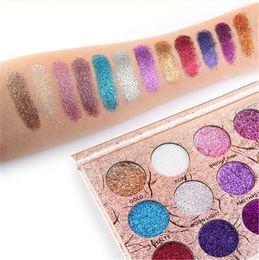 $enCountryForm.capitalKeyWord Australia - 2018 MAANGE Hot 12 Color Glitter Eyeshadow Fashion Super Flash Makeup Flash Powder Eyeshadows Beauty Products eye shadow free shipping