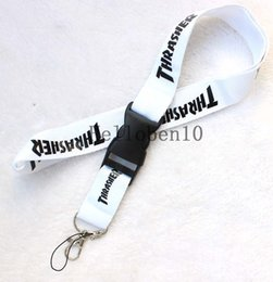 Discount car branded key holders - lot Clothing brand Logo Lanyard Detachable Keychain ID straps