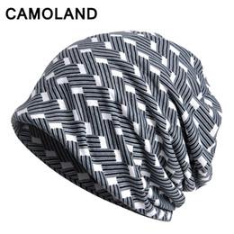 Chinese  NEW Winter hats for women Men Knitted Beanies Warm Neck Warmer Turban hat with Earflap Soft Bonnet bone Autumn Cap Cotton Gorras manufacturers
