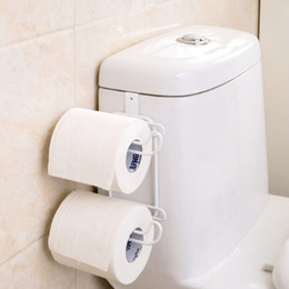 Paper Roll Holders Australia - Japanese toilet paper towel holder holder toilet paper creative free punch box with waterproof cover