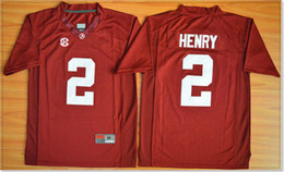 college football uniforms Canada - New Kids Alabama Crimson Tide #2 Derrick Henry Youth College American Football Vintage Sports Uniforms Team Pro Jerseys Stitched Embroidery