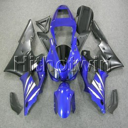 yamaha r1 blue fairings Canada - 23colors+8Gifts blue black bodywork motorcycle cover for Yamaha YZF-R1 98 99 YZFR1 1998 1999 ABS Plastic Fairing
