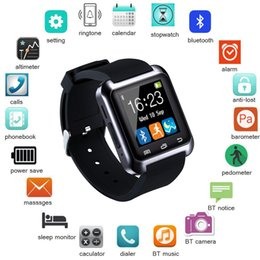 Smart Watch Iphone Android Australia - Smartwatch Bluetooth Smart Watch for iPhone IOS Android Smart Phone Wear Clock Wearable Device Smartwach PK U8 GT08 DZ09 A1