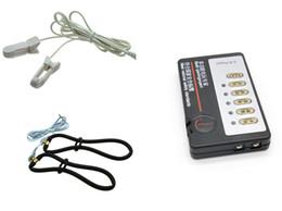 $enCountryForm.capitalKeyWord Australia - Anus Vagina Electro Stimulation Estim Bondage Torture Ring Nipple Clips Pulse Therapy Electric Shock Sex Toys for Women XCXA204