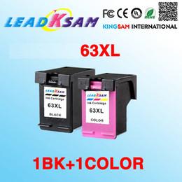 2x cartouche d'encre compatible pour HP63 63XL pour 63 Deskjet 1112 2130 2132 3630 3632 Officejet 3830 4650 4652 Envy 4516 4520 en Solde