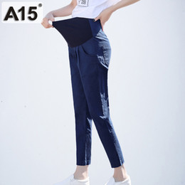 Leggings Pregnant Australia - Trousers for Pregnant Women Clothes High Waist Maternity Pants Abdominal Pregnancy Leggings Clothing Maternidad Capris Pantalone