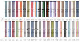 Weave Wrist Watch Australia - Sport woven nylon band strap for apple watch 44mm 40mm 42mm 38mm wrist braclet nylon watchband for apple watch iwatch 4 3 2 1 Edition