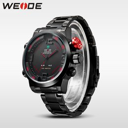watch orologi 2019 - WEIDE Sports Watches Waterproof 30 Meters Analog Digital LED Back Light Display Brand relogio masculino orologi uomo for