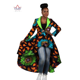 $enCountryForm.capitalKeyWord UK - BRW 2017 New African Clothes for Women Dashiki Turn- Down Collar Outwear for Lady Bazin Riche Plus Size Africa Clothes WY443