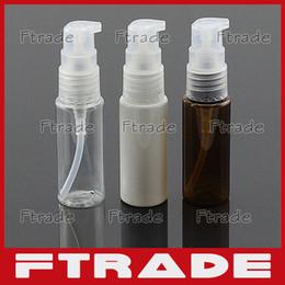 Discount plastic soap pumps bottle - Wholesale- Soap Pump Bottles 20ml for Shampoo Wholesale Plastic Empty Travel Soap Pump Bottle 10PCS Lot