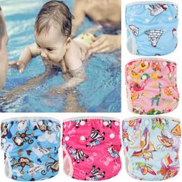 323a46935 7 Fotos Pañales de natación en venta-Pororo 2018 pañales de bebé a prueba  de agua pañales