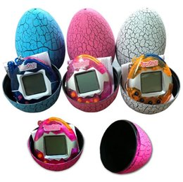Wholesale Dinosaur Egg Tamagotchi Virtual Digital Electronic Pet Game Machine Tamagochi Toy Game Handheld Mini Funny Virtual Pet Machine Toys a453