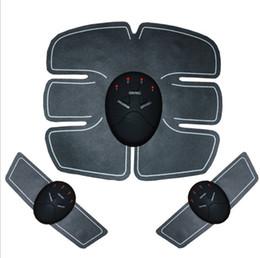 Hand Slim Belt NZ - Abdominal Muscle Training Stimulator Device Wireless EMS Belt Gym Professinal Body Slimming Massager Home Fitness Beauty Gear DHL free