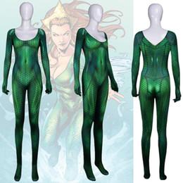 Green Spandex Jumpsuit NZ - Asian Size Hot Women Sexy Ragnarok Hela Queen Superhero Cosplay Costume Lycar Spandex Zentai Jumpsuit Bodysuit