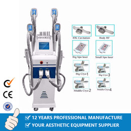 Sculpting head online shopping - Professional Heads Cryotherapy Slimming Fat Freezing Liposuction Body Sculpting Lipofreeze Wight Loss Cryo Slimming Machine CE DHL