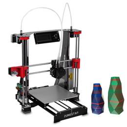 I3 desktop online shopping - ZONESTAR M8R2 Full Metal Frame Mixed Color Multi material Printing DIY D Printer Kit desktop popular effective