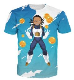 China T-Shirt Boondocks and Dragonball Z Riley Super Saiyan 3d Print T Shirt Women Men Summer Style Casual Tees Tops S-XXXXXXXXL U699 suppliers