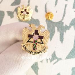 $enCountryForm.capitalKeyWord Canada - 10pcs Masonic Masonry Freemason Enamel Brooches and Pins Scottish Rite Rose Croix Cross 32 Degree Lapel Pin Badge
