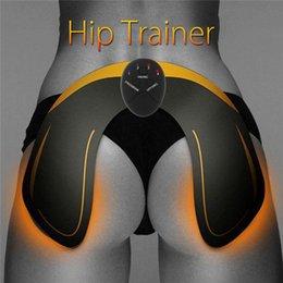 EMS хип тренер хип мышечный стимулятор ягодицы Buttock Butt Lifting Machine Главная фитнес тренировки оборудование с 6 режимов без батареи