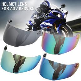 $enCountryForm.capitalKeyWord NZ - Motorcycle Full Face Helmet Lens Visor Motocross Shield For AGV K3SV K5 Glasses Accessories