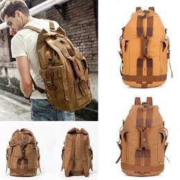 Women Huge Travel Bag Large Capacity Men Backpack Weekend Bags  Multifunctional Travel Canvas Backpack Camping Bag Book Bag Free DHL G162S a9727de01b