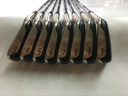 forged golf clubs 2019 - Brand New 8PCS T-MB718 Iron Set 718 TMB Golf Forged Irons Golf Clubs 3-9Pw R S Flex Steel Graphite Shaft With Head Cover