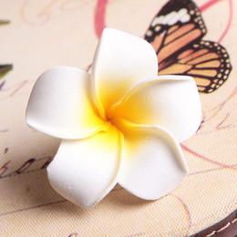 $enCountryForm.capitalKeyWord NZ - Korea Goods Bohemia With Egg Lace Clip Imitation Flower Hair Trim Seaside Holiday Skirt Elegant Fashion