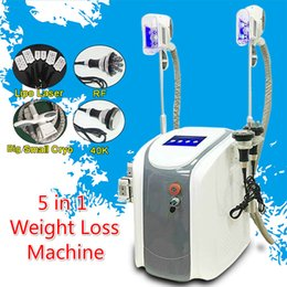 slim can 2019 - 2018 NEWEST !! Fat freezing machine waist slimming cavitation rf machine fat reduction lipo laser 2 freezing heads can w