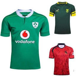 7d1578c723f Ireland Rugby Jerseys Canada - Wholesale- Ireland rugby shirt Espana Rugby  Jerseys South Africa Rugby