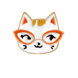 Discount clothing for wedding man - Cute Animal Cat Small Size Hard Enamel Brooches Pins Lapel Pins For Boy Girl Men Women Clothes Backpack Hat Jacket Badge