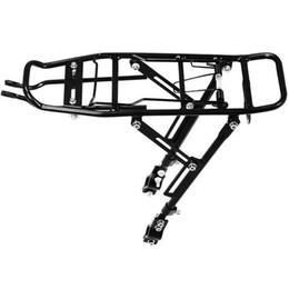 Good Mountain Bikes NZ - Good deal-Alloy Rear Bicycle Pannier Rack Carrier Bag Luggage Cycle Mountain Bike Black