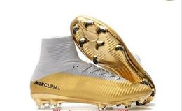 Chinese  Cheap New womens soccer cleats mercurial superfly CR7 Quinto Triunfo FG soccer shoes boys mens 2019 football boots kids neymar ronaldo manufacturers