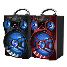Large Speaker Radio NZ - MS 188BT Big Bluetooth Outdoor HiFi Speaker Large Portable Speakers Bass Wireless Subwoofer Loudly MP3 Music Player TF FM AUX Radio