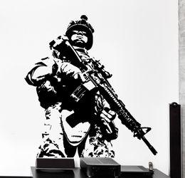 $enCountryForm.capitalKeyWord Australia - Soldier Marine Army Military Guys Wall Sticker For Living Room House Decoration
